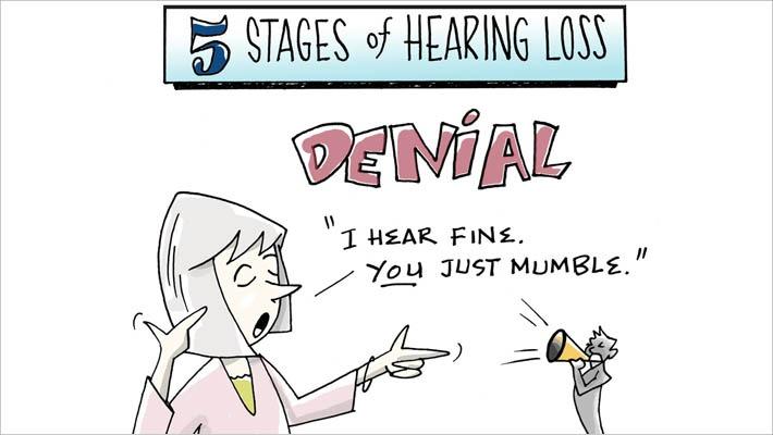 Pieci dzirdes izmaiņu posmi