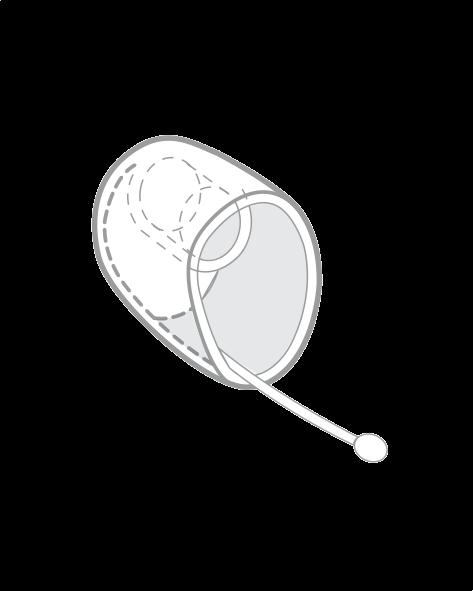 Открытый канальный вкладыш